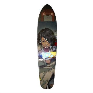 Planche à roulettes de fabricant de jouet skateboard old school 18,1 cm
