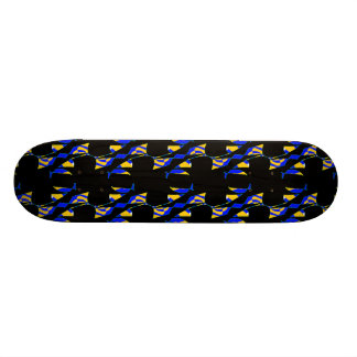 Planche à roulettes de Goth Planches À Roulettes Customisées