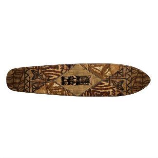 Planche à roulettes de Hawaïen de Tiki de Tapa Skateoard Personnalisé