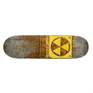 Planche à roulettes de l'abri contre les retombées plateaux de skateboards