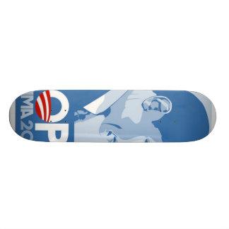 Planche à roulettes de l'espoir 08 d'Obama Plateaux De Skate