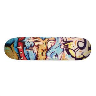 Planche à roulettes de monstre de graffiti skateboard old school  21,6 cm
