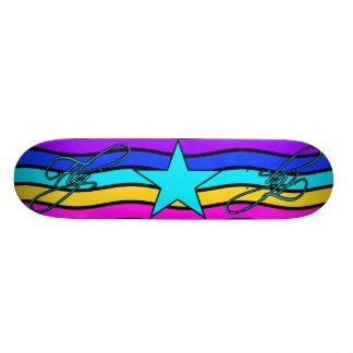 Planche à roulettes de mouche skateboards personnalisés