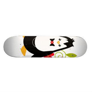 planche à roulettes de partie de pingouin planche à roulette