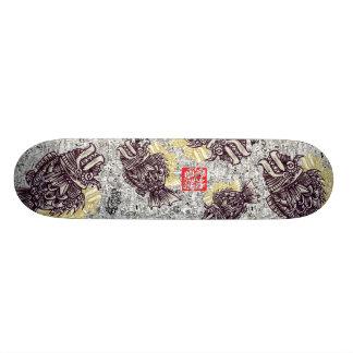 Planche à roulettes de Sakana par le Bâillon-Cirqu Skateboard Customisable