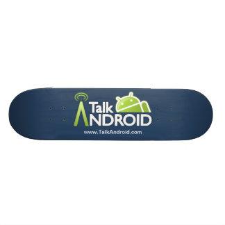 Planche à roulettes de TalkAndroid Plateaux De Skate