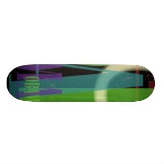 Planche à roulettes de typoGenF d'OBAMA Skateoard Personnalisé