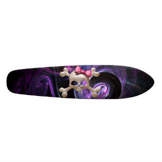 Planche à roulettes de vieille école de Goth de Skateboard Customisable