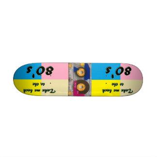 planche à roulettes des années 1980 planche à roulette customisée