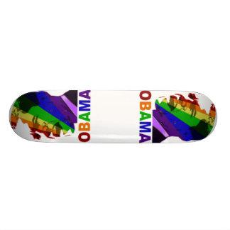 Planche à roulettes d'Obama Plateaux De Skate