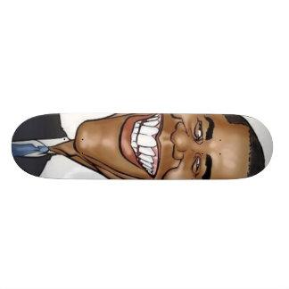 Planche à roulettes d'Obama
