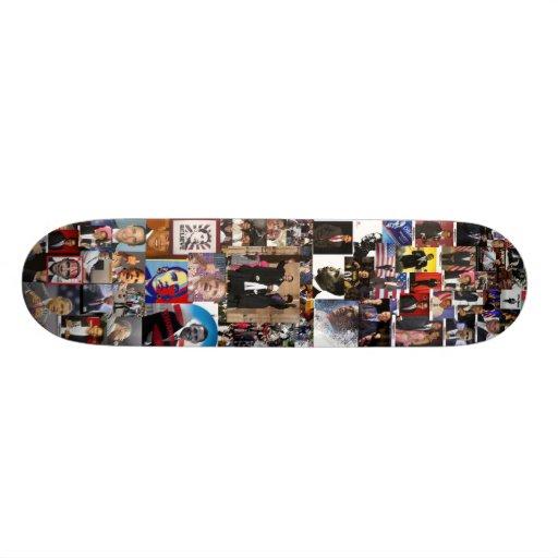 planche à roulettes d'obama skateboard customisable