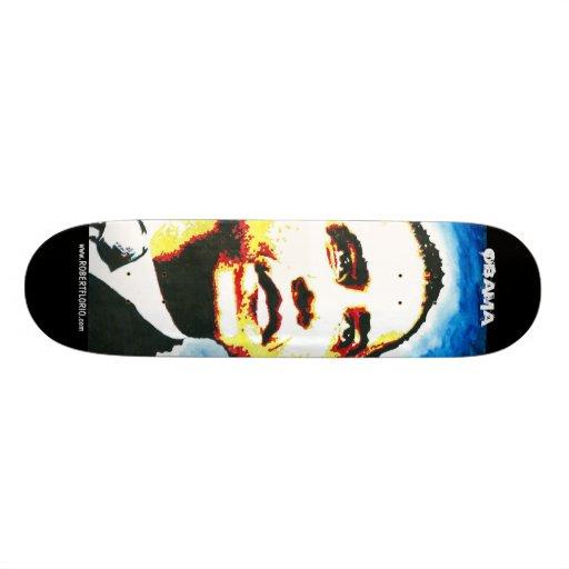 Planche à roulettes d'Obama l'homme Skateboards Personnalisés