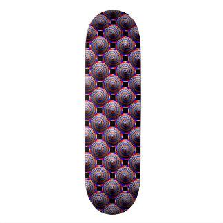 Planche à roulettes en spirale de cône skateboards personnalisables