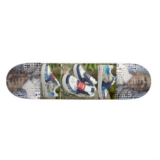 Planche à roulettes et éruptions d'Obama Skateboards