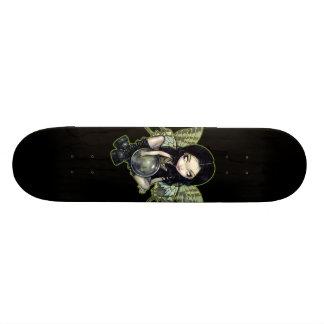 Planche à roulettes féerique de goth de rouille skateboards