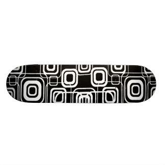 Planche à roulettes géométrique de conception skateboard 19,7 cm