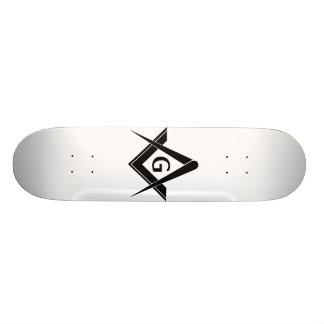 Planche à roulettes maçonnique skateboards personnalisés