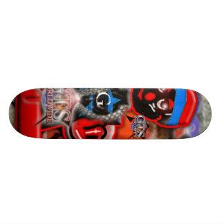 Planche à roulettes mondiale de bande dessinée de  skateboards cutomisables