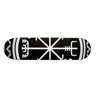 Planche à roulettes nautique de boussole de Viking Plateau De Skateboard