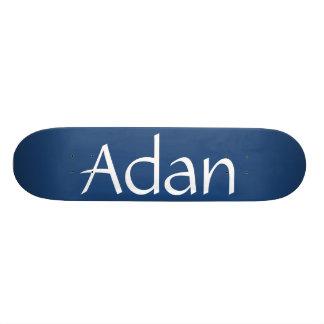 Planche à roulettes nommée d'Adan Skateboard Customisable