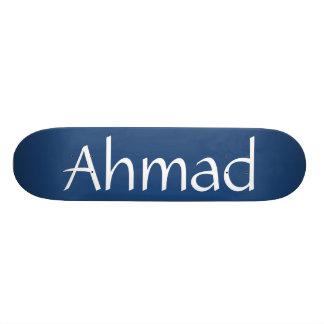 Planche à roulettes nommée d'Ahmad Mini Skateboard 18,4 Cm