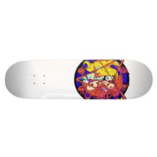 Planche à roulettes vampirique d'étreinte de Goth Skateboards Personnalisables