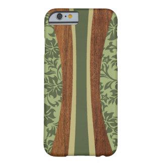 Planche de surf hawaïenne en bois de Faux de Coque iPhone 6 Barely There