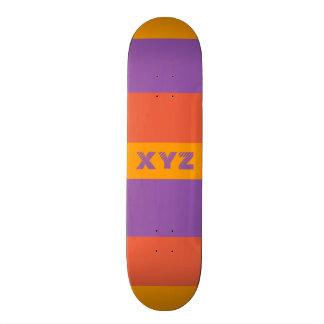 Planches à roulettes tricolores de coutume de rayu
