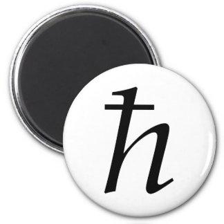 Planck's Constant (reduced) Magnet