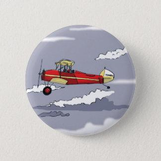 plane 2 inch round button