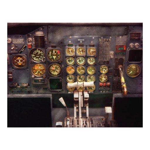 Plane - Cockpit - The controls are set Flyers