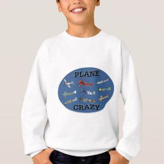 PLANE CRAZY SWEATSHIRT
