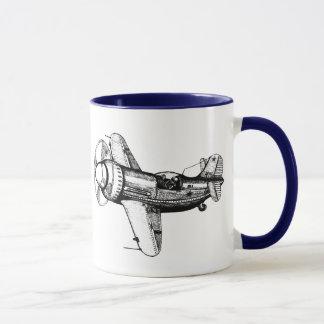 Plane mug design