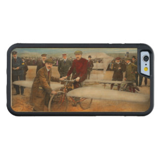 Plane - Odd - Easy as riding a bike 1912 Carved Maple iPhone 6 Bumper Case