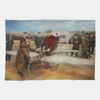 Plane - Odd - Easy as riding a bike 1912 Kitchen Towel