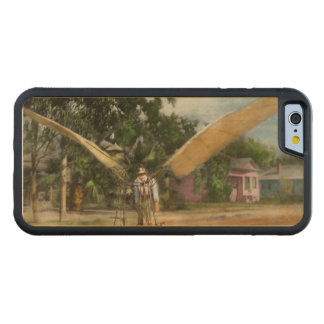 Plane - Odd - The early bird 1910 Carved Maple iPhone 6 Bumper Case