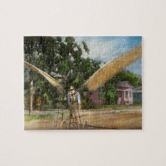Plane - Odd - The early bird 1910 Jigsaw Puzzle