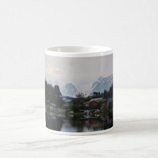 Plane on Lake in Alaska Classic White Coffee Mug