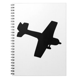 Plane Silhouette Notebook