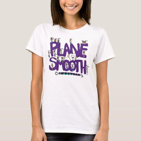 Plane Smooth Shirt with Dental Staff