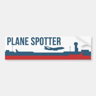 Plane Spotting Spotter Bumper Sticker