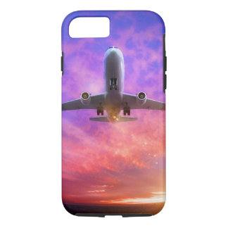 Plane Take Off Flying Sunset iPhone 7 Case
