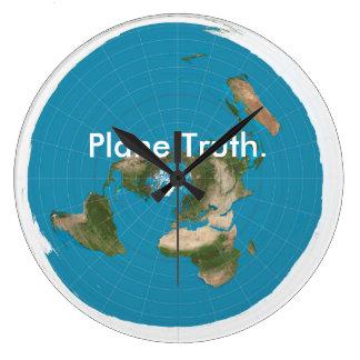 """Plane Truth."" Clock"