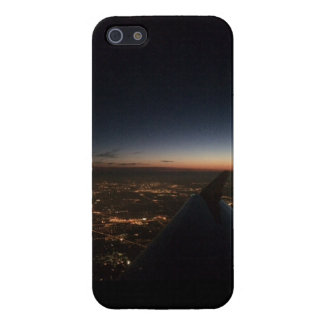 Plane Wing at Night iPhone 5/5S Cases
