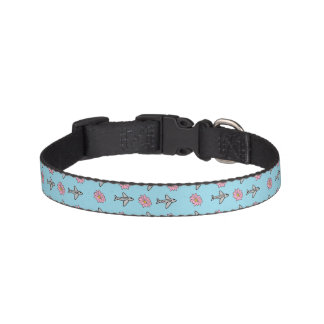 Planes and Flowers Collar