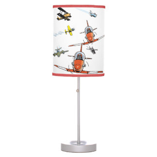 Planes and Jets Aviation Cartoon Lamp