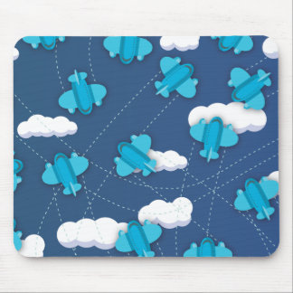 planes mouse pad