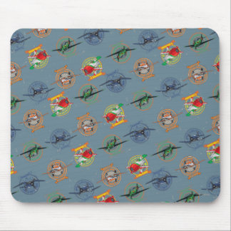 Planes Pattern Mouse Pad