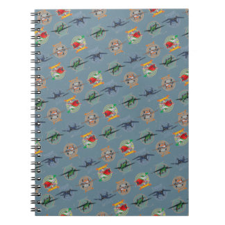 Planes Pattern Notebook